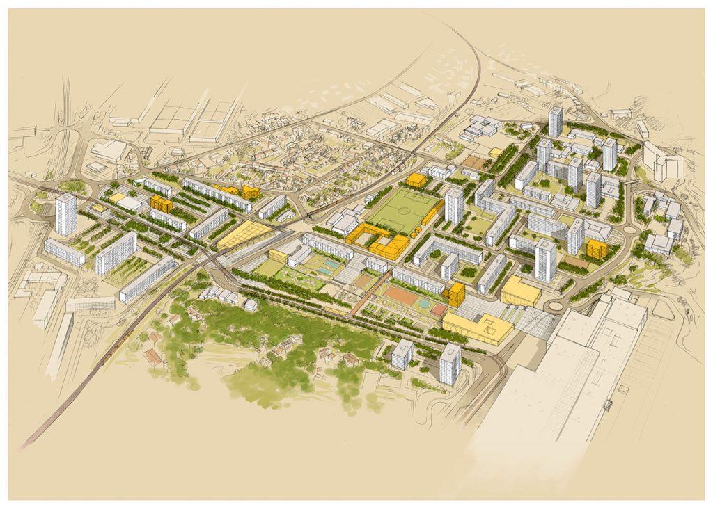 Restructuration du quartier Picon-Busserine à Marseille - Babel architecture / LM Communiquer - 2012