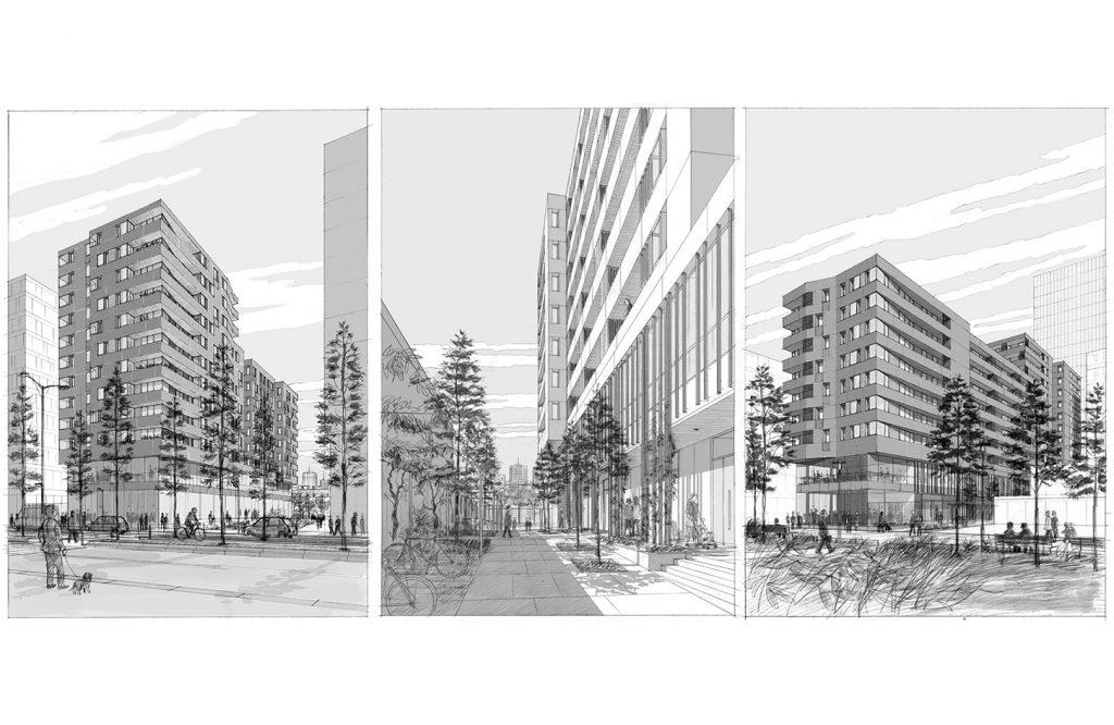 Concours pour un immeuble de logements à Paris - Jean & Aline Harari architectes - 2012