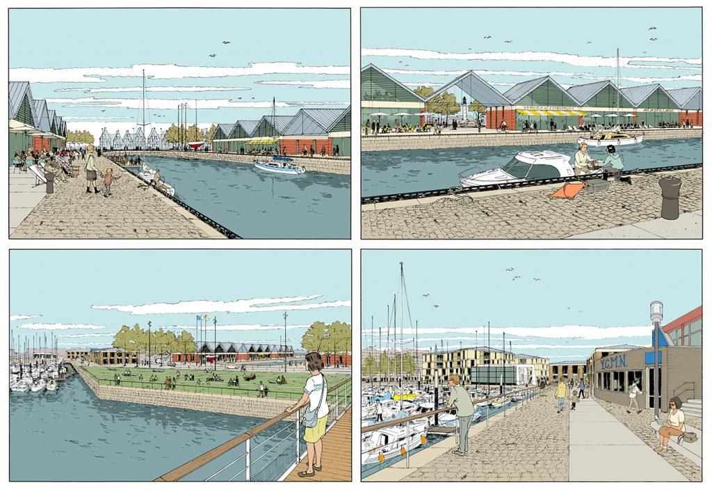Aménagement urbain du port de Dunkerque - Agence UP - 2013