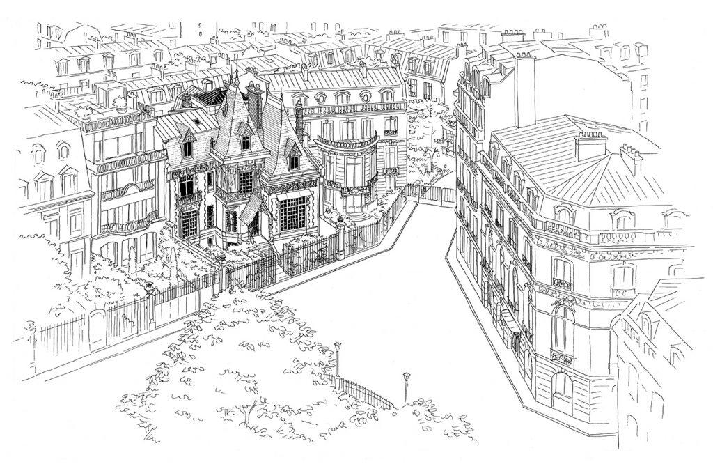 Réhabilitation de l'Hôtel Potocki à Paris - Philippe Jean architecte / LM Communiquer - 2013