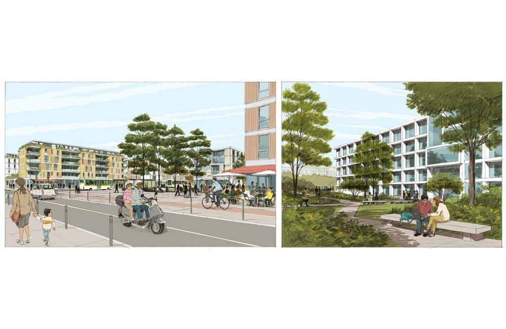 Aménagements urbains sur le plateau de Saclay - Etablissement Public de Paris-Saclay - 2013