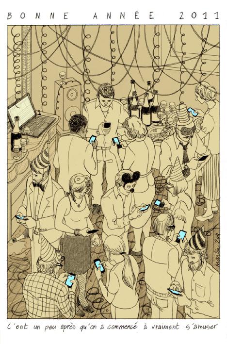 Carte de voeux personnelle 2011