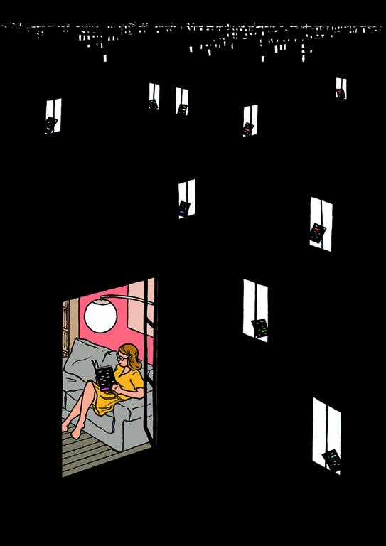 Illustration réalisée à l'occasion de la parution du numéro 10 de la revue Criticat