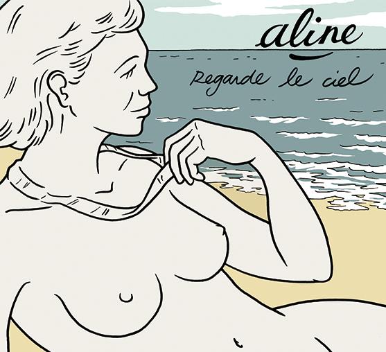 """Pochette de l'album """"Regarde Le Ciel"""" du groupe Aline, sortie janvier 2013"""